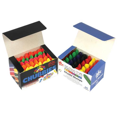 Chubbi Stumps Assorted Colours Sets