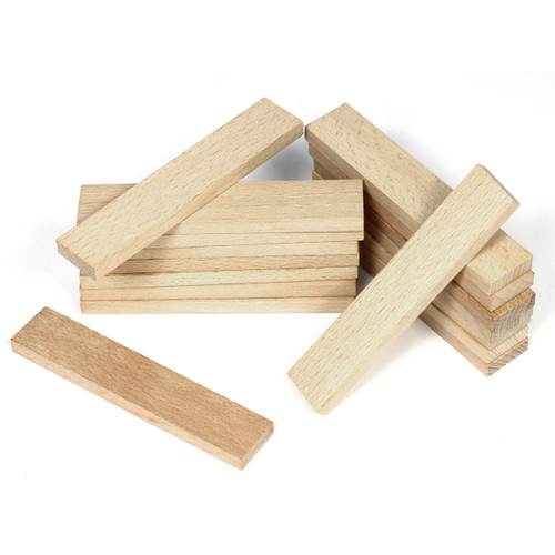 Wooden Plank Building Set 200 Piece