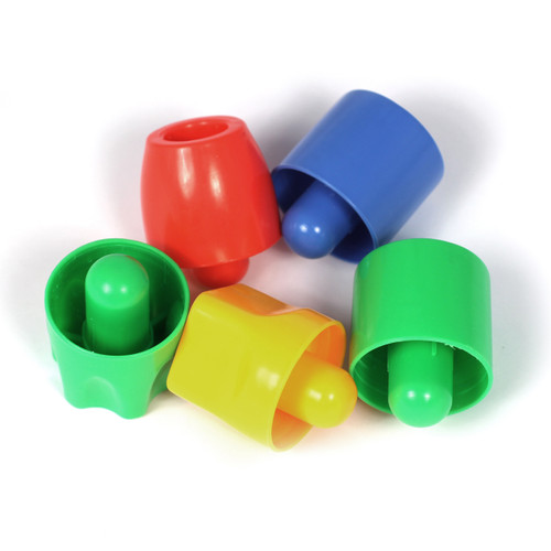 Establish hand and eye coordination whilst developing the pincer grip. Bright, attractive colours to encourage and stimulate visual perception.