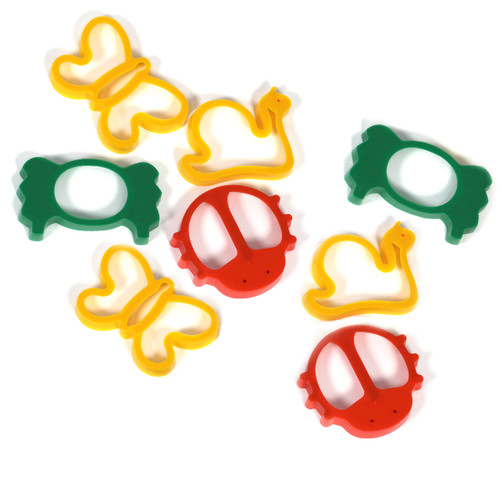 Set Of 8 Giant Minibeast Bug Cutting Shapes