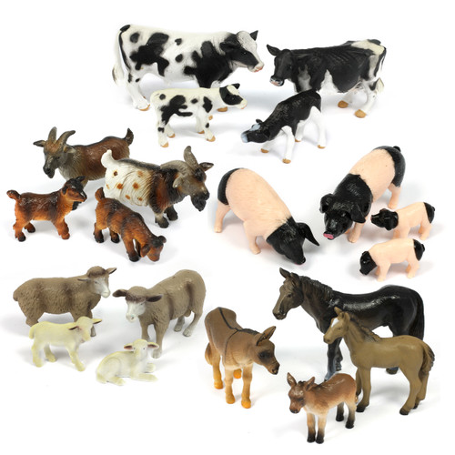 20PC Small Farm Animal Bundle