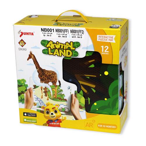 Augmented Reality Puzzle Mat Bundle Animals City Flying and Sea