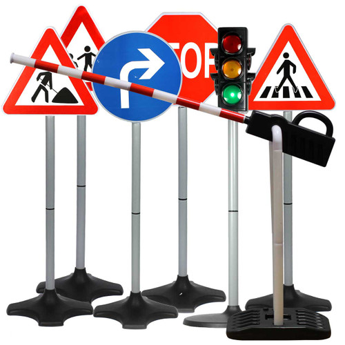 Traffic control, great for learning about road safety.