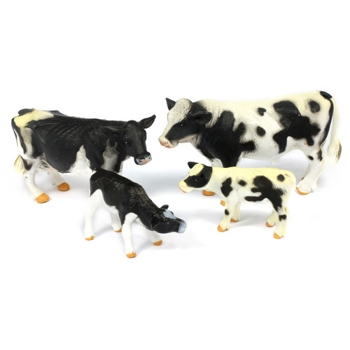 4pc Cow Animal Bundle