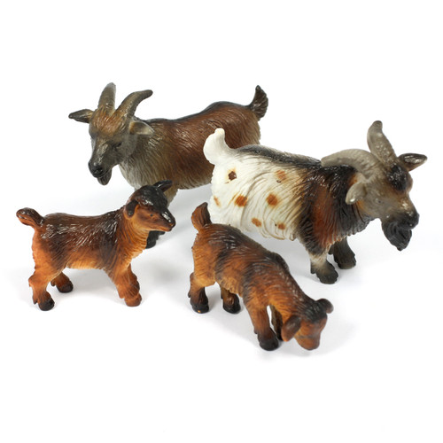 4pc Goat Animal Bundle