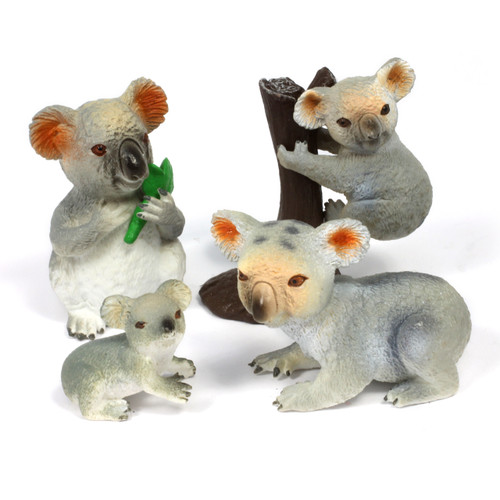 4pc Koala Animal Bundle