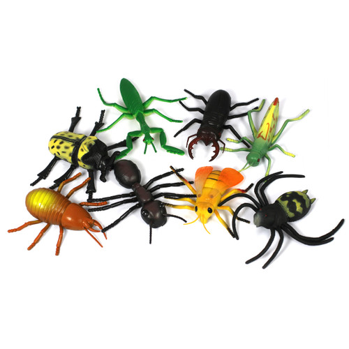 Medium Insects 8 Piece