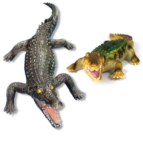 Crocodile Set Soft Feel Giant 47 Inch and Large 20 Inch