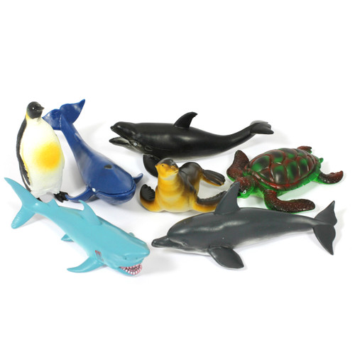 Sea Creatures Set of 7