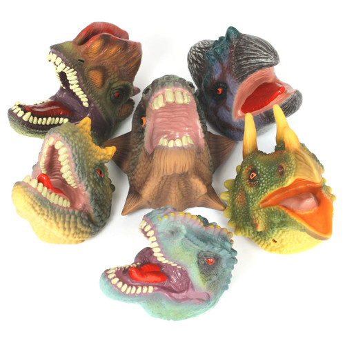 Jurassic Finger Puppets Soft Feel Set of 6