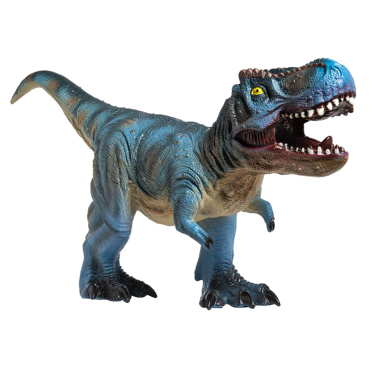 Highly detailed T Rex Dinosaur, soft to touch and perfect for individual or group play.