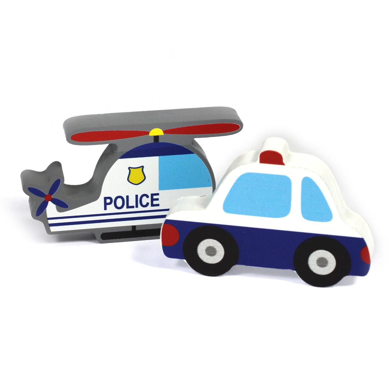 2Pc 15mm Thick Police Character Group