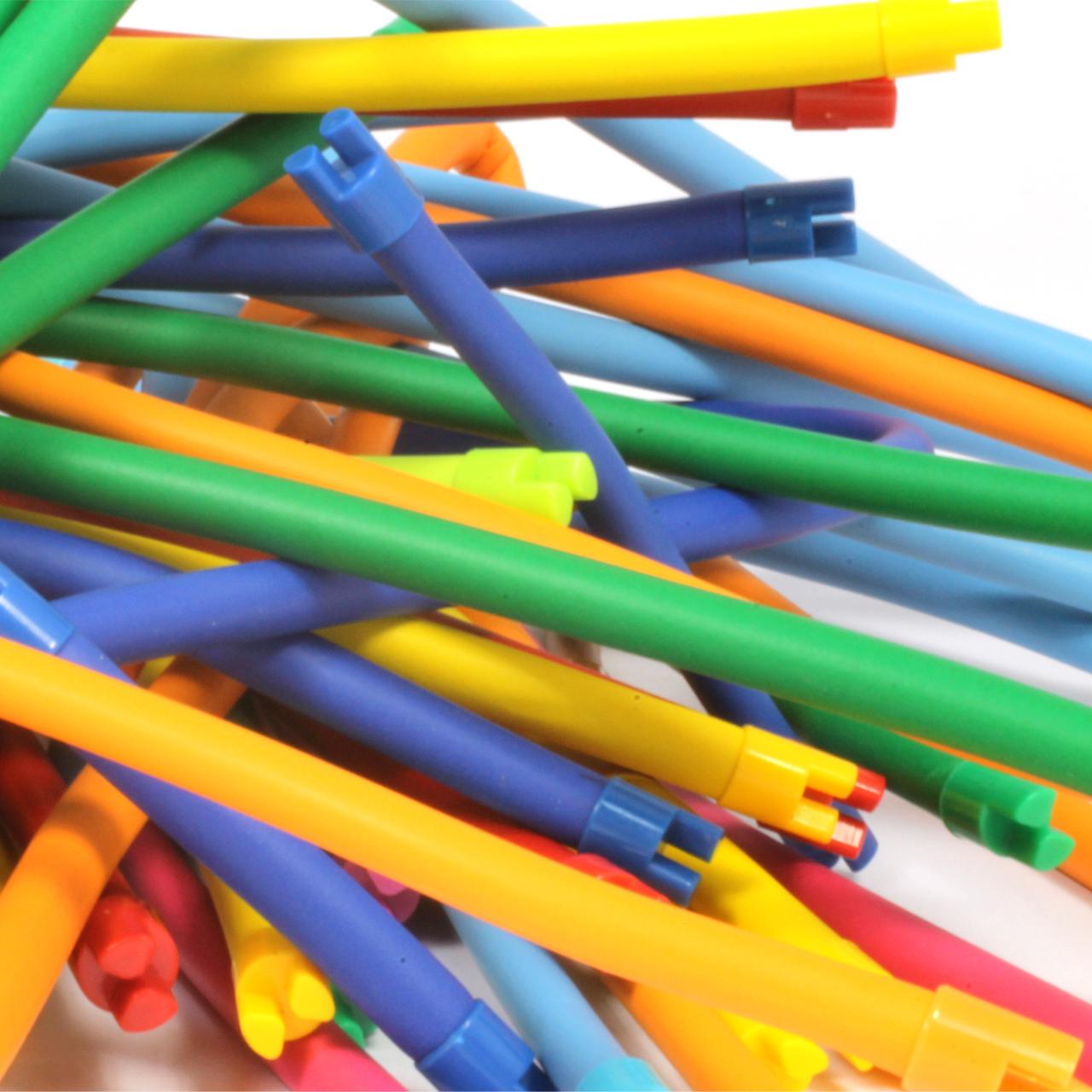 Flexible Building Tubes Construction Set 270 Pieces