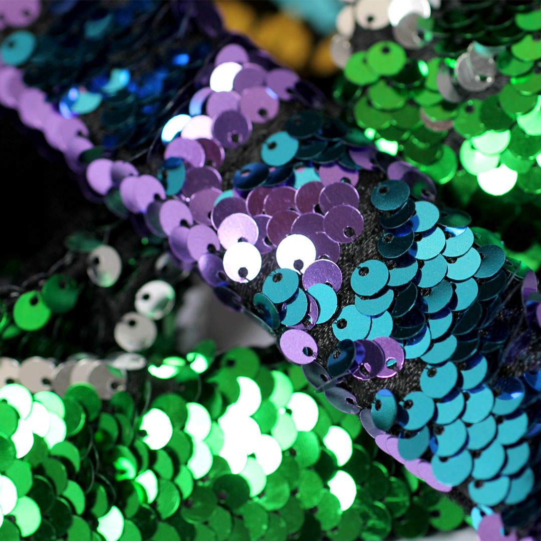 Reversible Sequin Sensory Wrist Bands 5 Pack