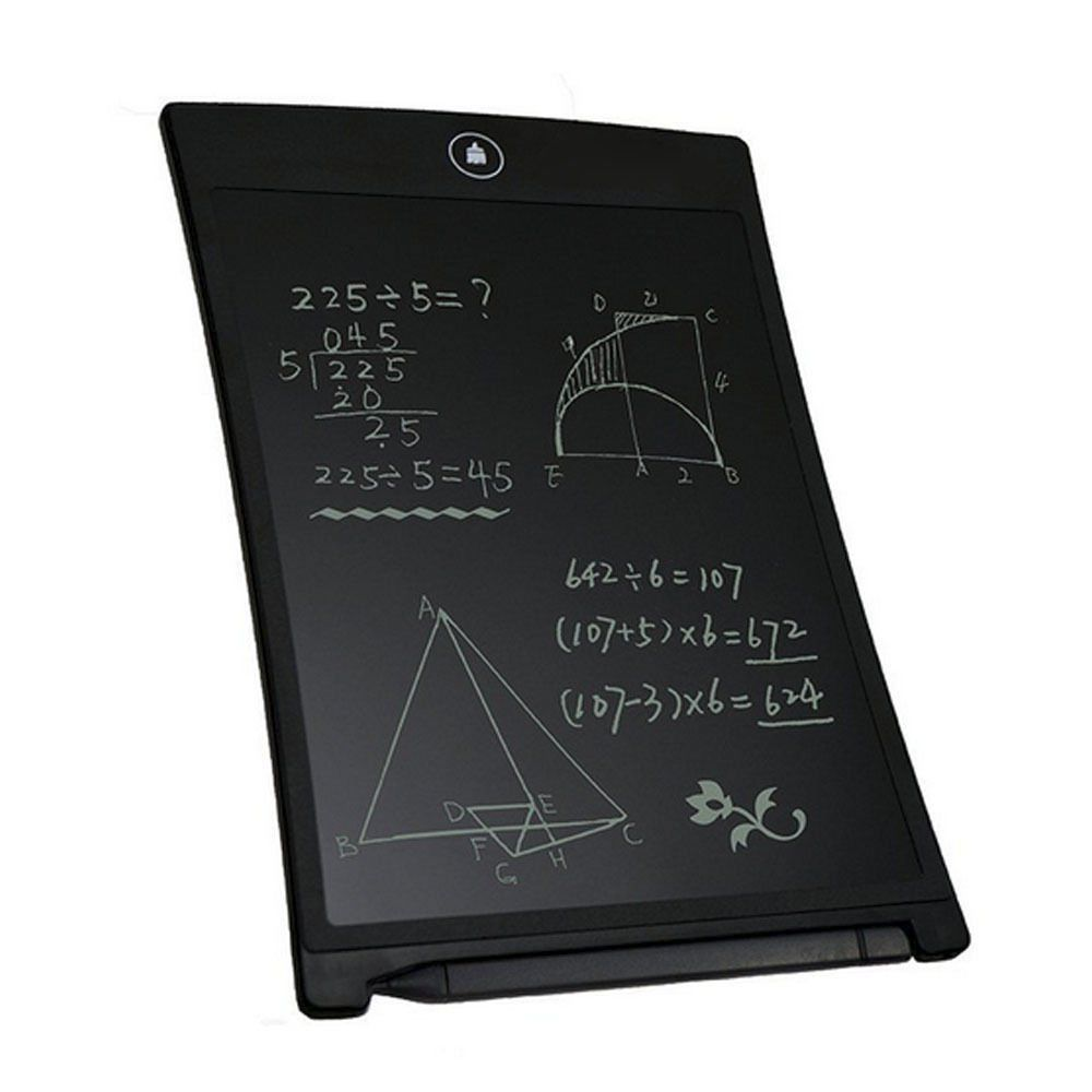 LCD Writing Tablet can be erased and rewrite over million times.