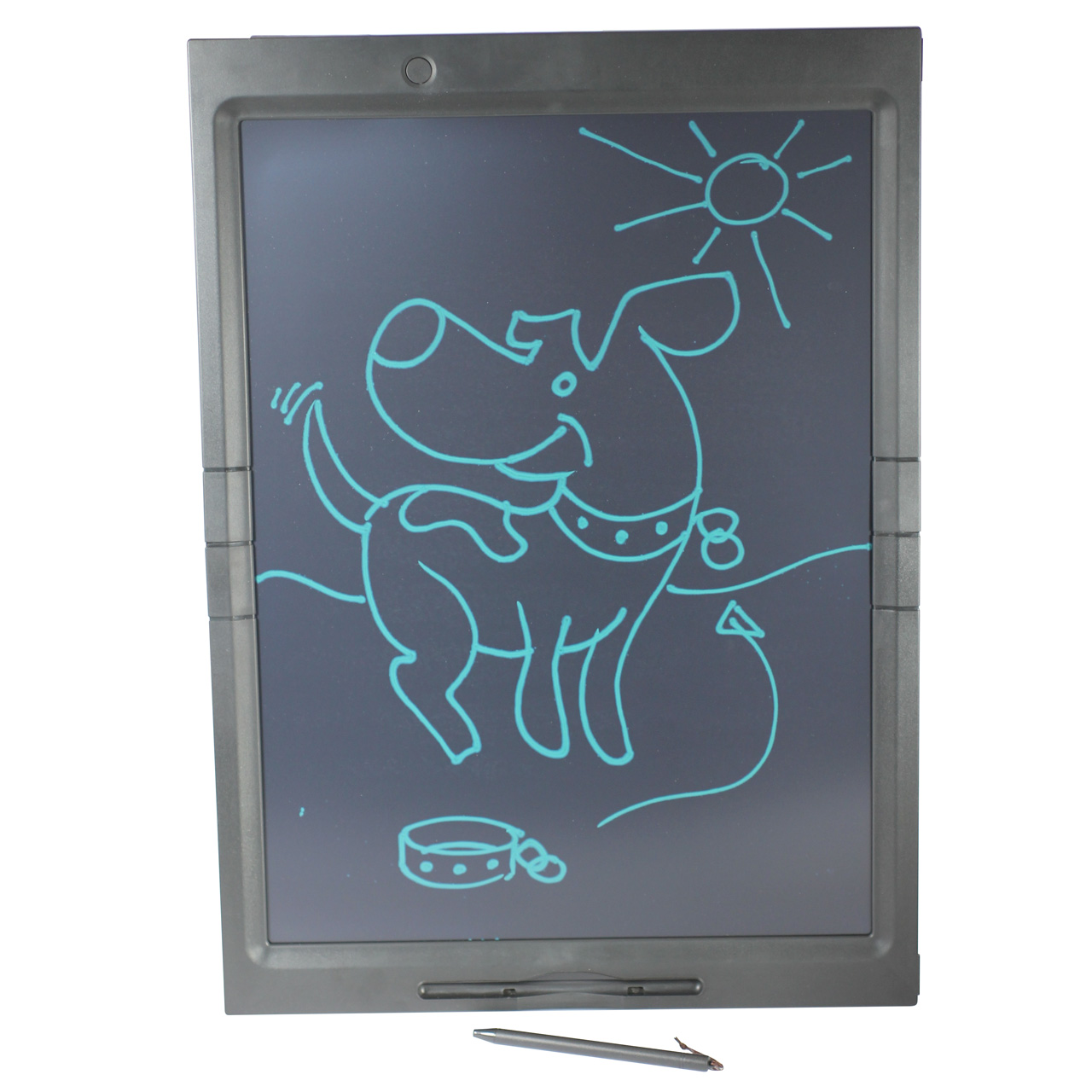 21 Inch LCD Large Writing Board Black