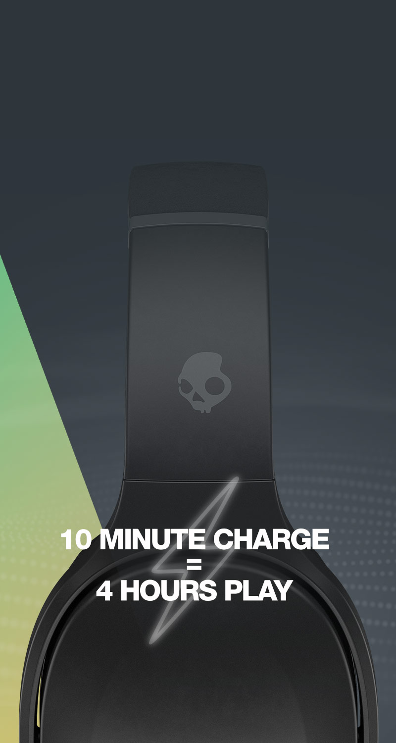 A big, fat 40 hours of battery life.