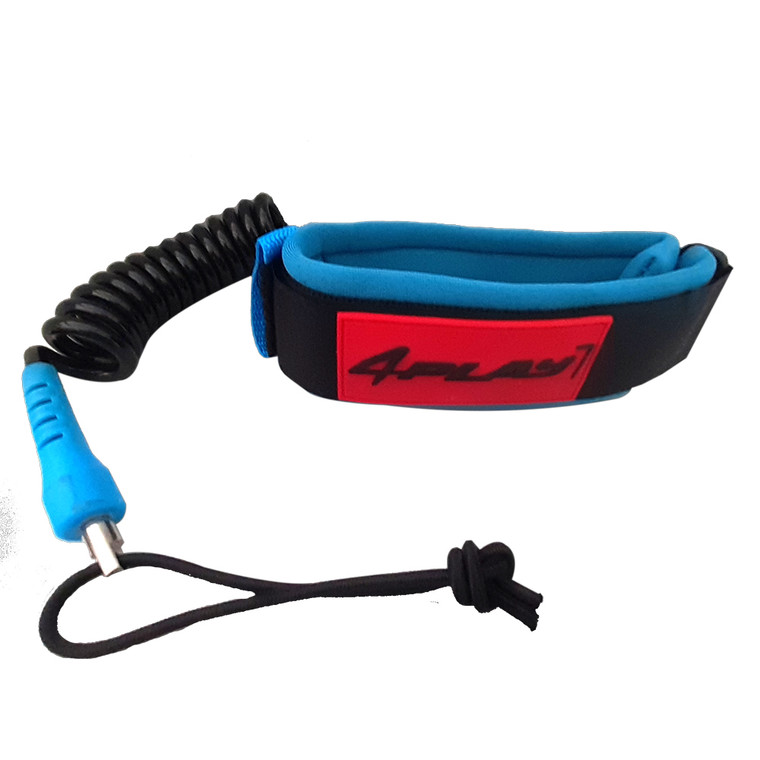 4play bicep coil - twin swivel - comfy cuff with quick detach pull