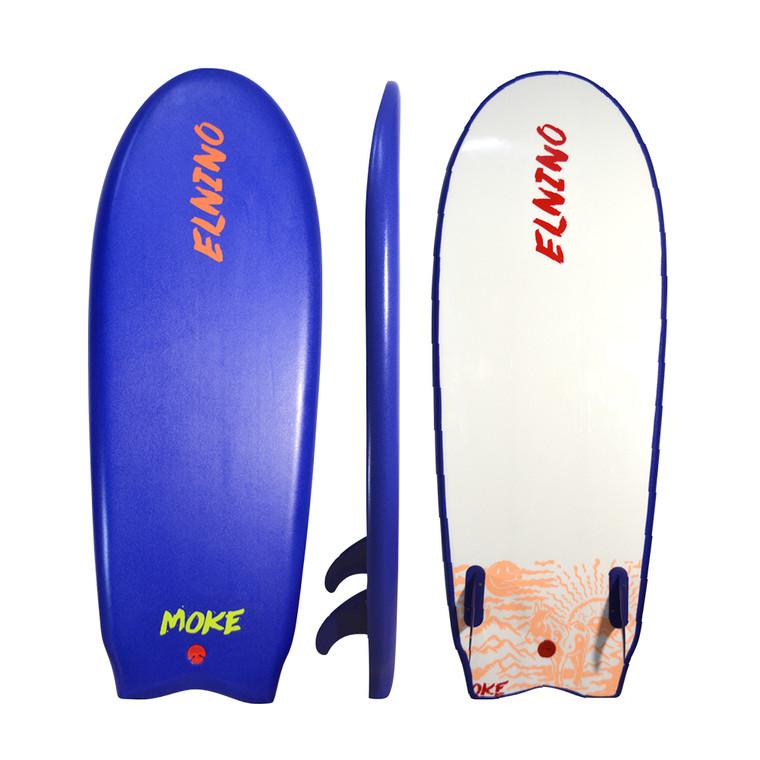 """Elnino Moke 53"""" - standard with twin fins/twin stringers"""