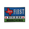 2018 Texas First Division Patch