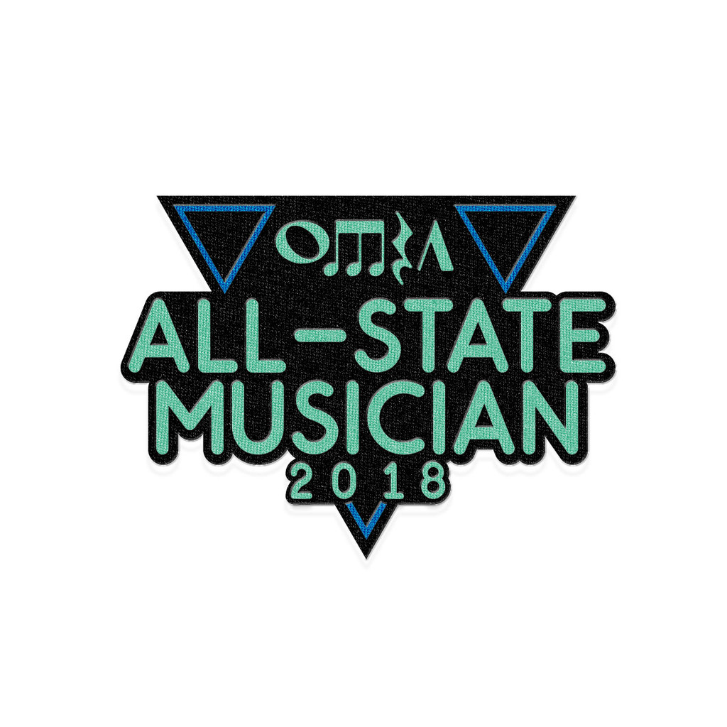 2018 OMEA All-State Event Patch