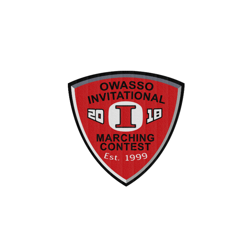 2018 Owasso Invitational Marching Event Patch
