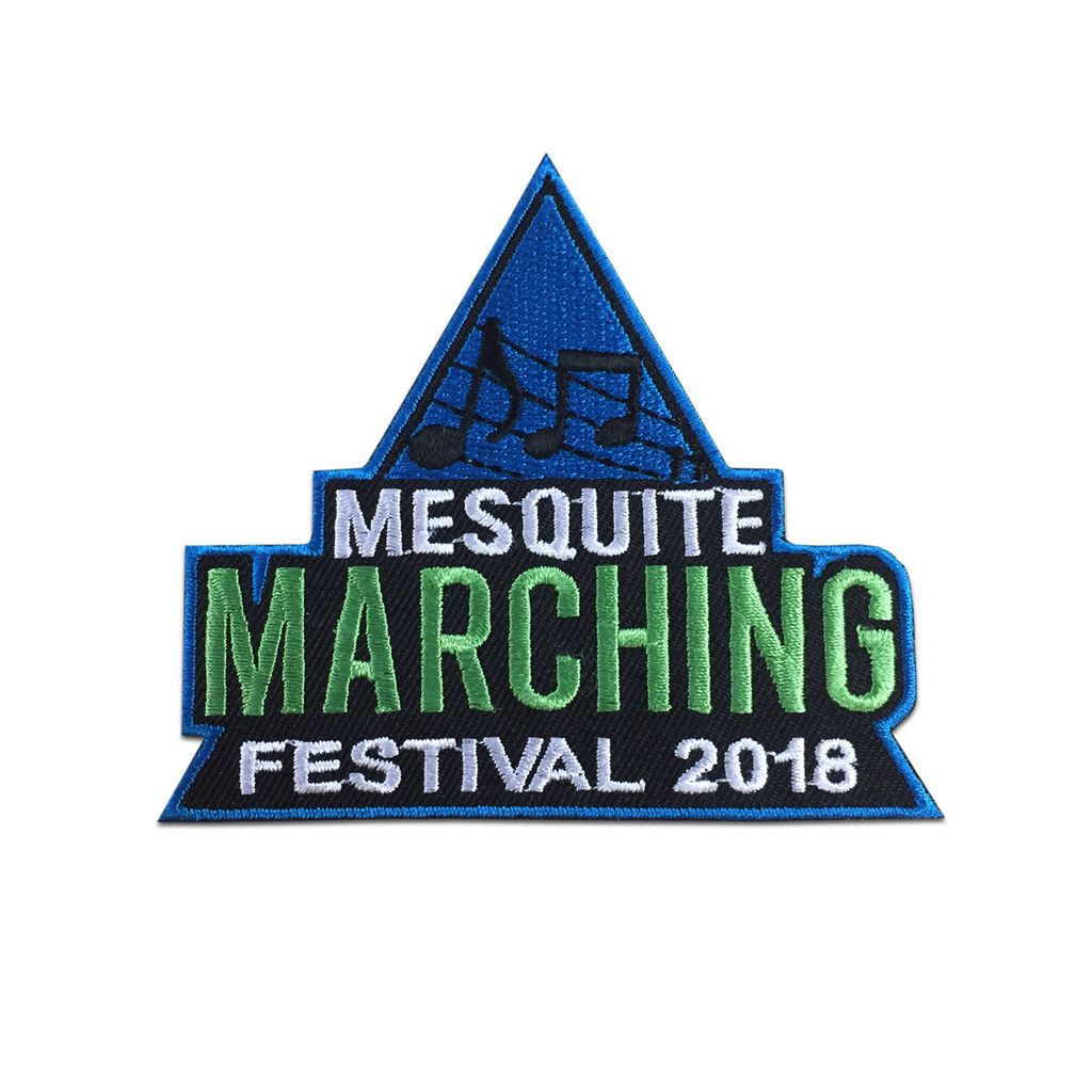2018 Mesquite Marching Festival Patch