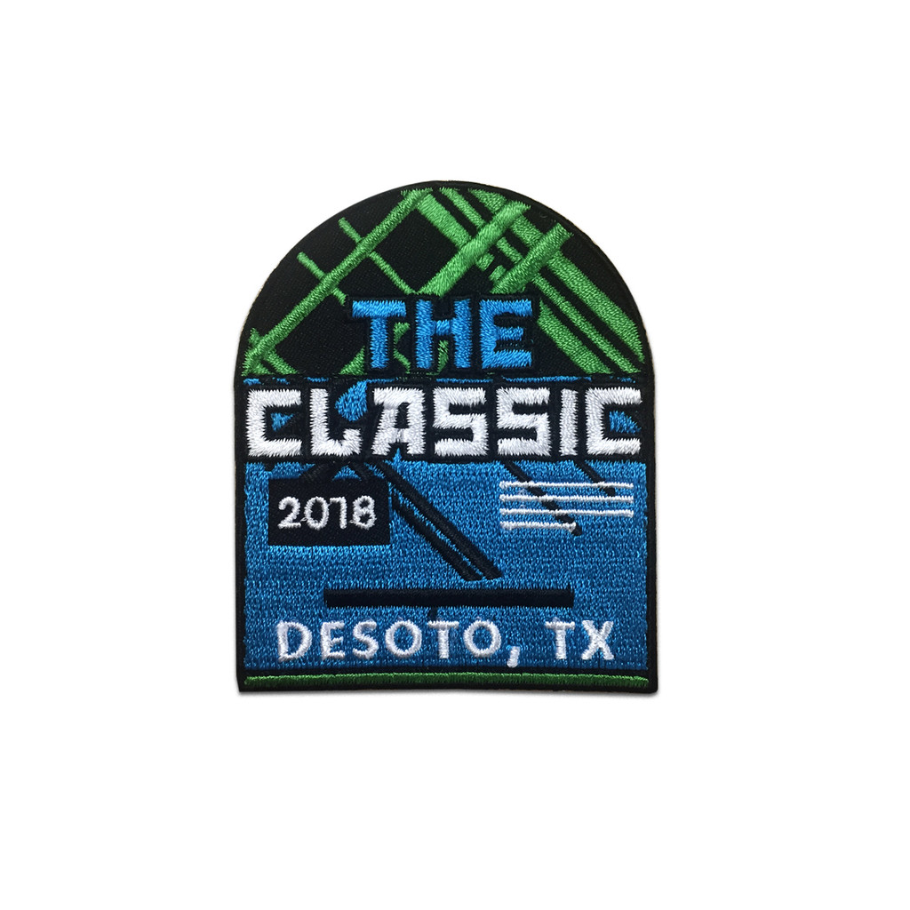 "2018 DeSoto ""The Classic"" Event Patch"
