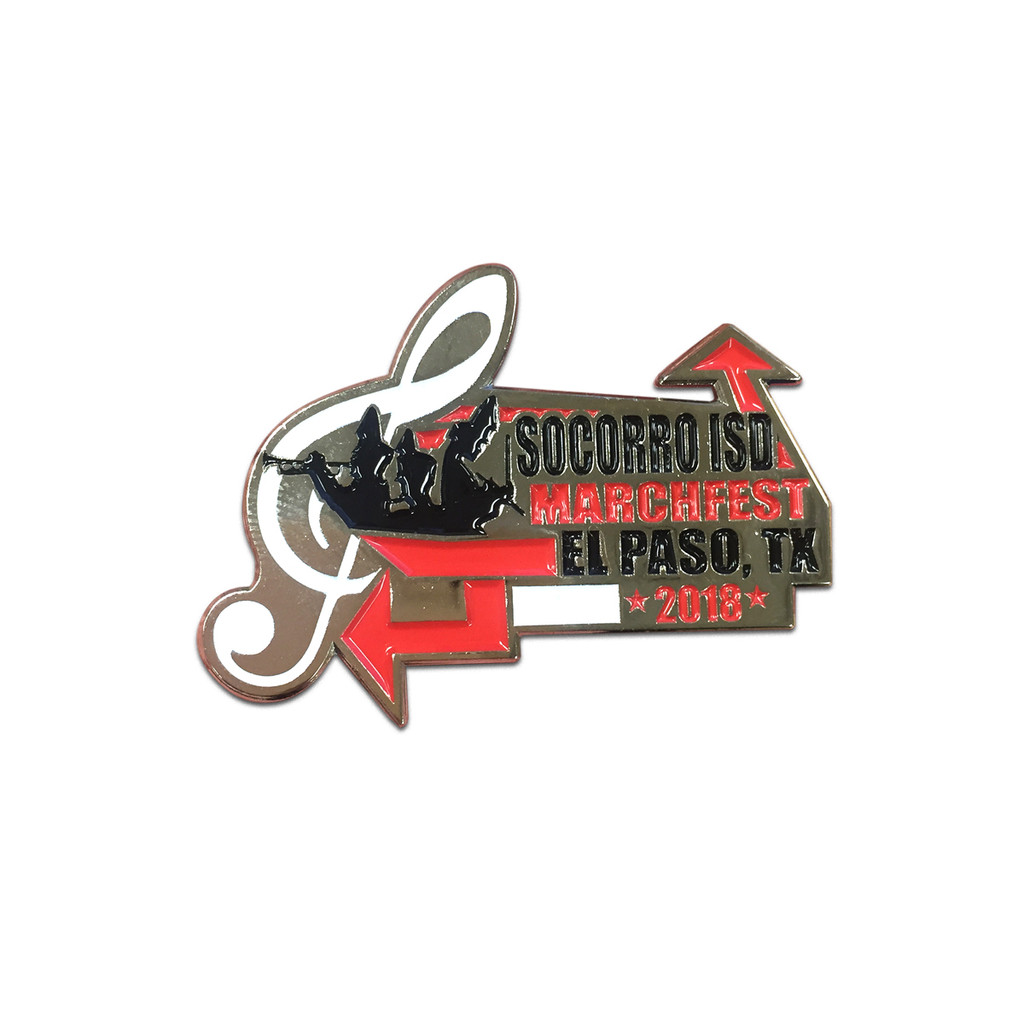 2018 Socorro ISD Marchfest Event Pin
