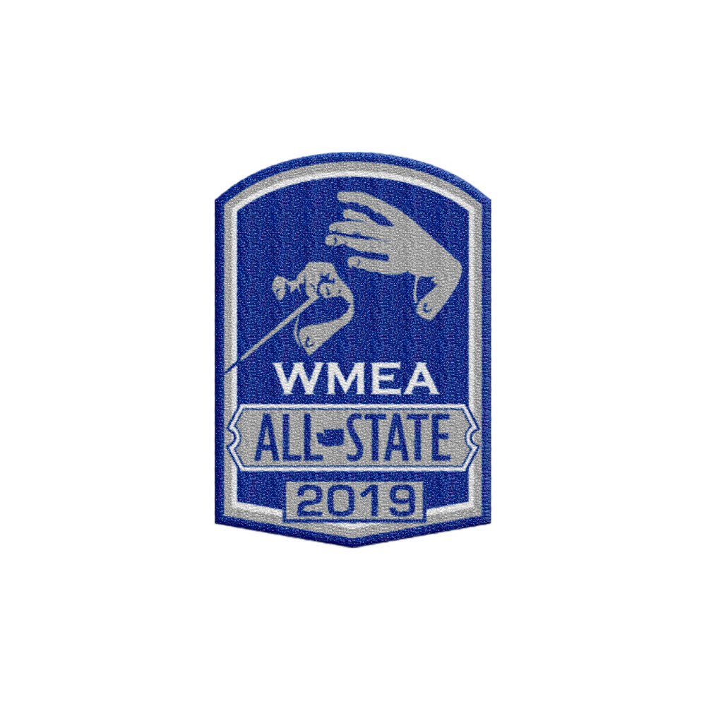 Pre-Order 2019 WMEA All-State Event Patch