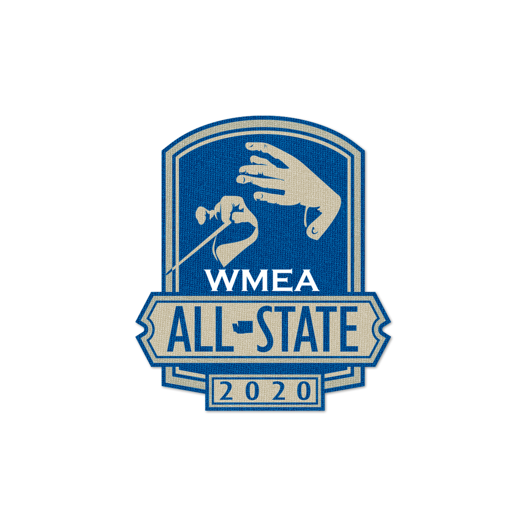 2020 WMEA All-State Patch