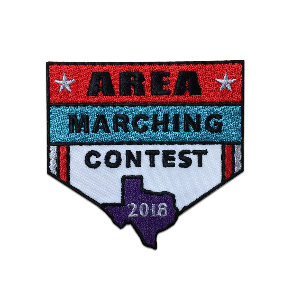 2018 Texas Area Marching Patch
