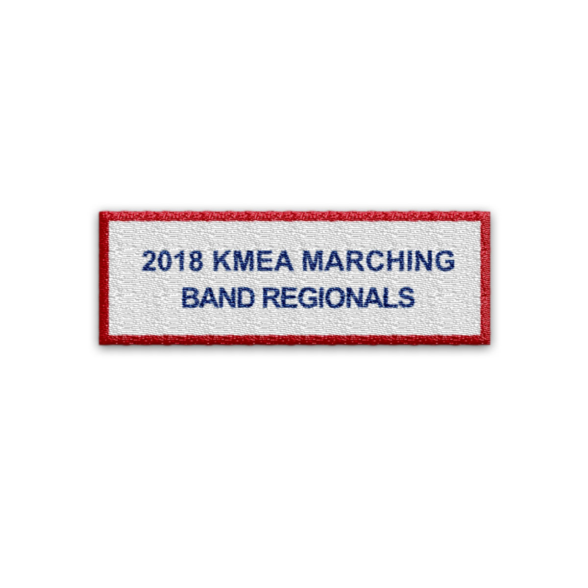 2018 KyMEA Marching Band Regional Quarter Finals Event Patch