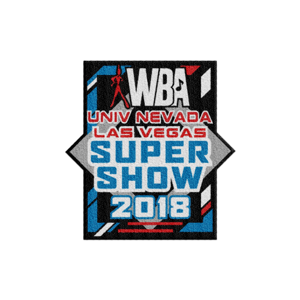 2018 WBA Univ Las Vegas Super Show Event Patch