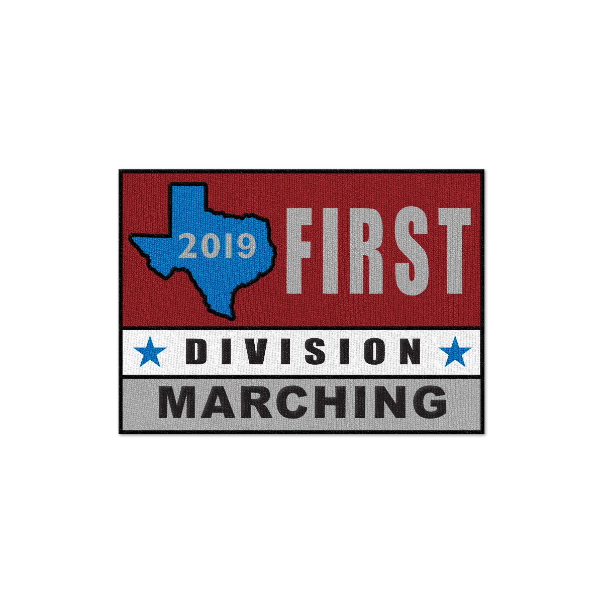 2019 Texas Division I Patch
