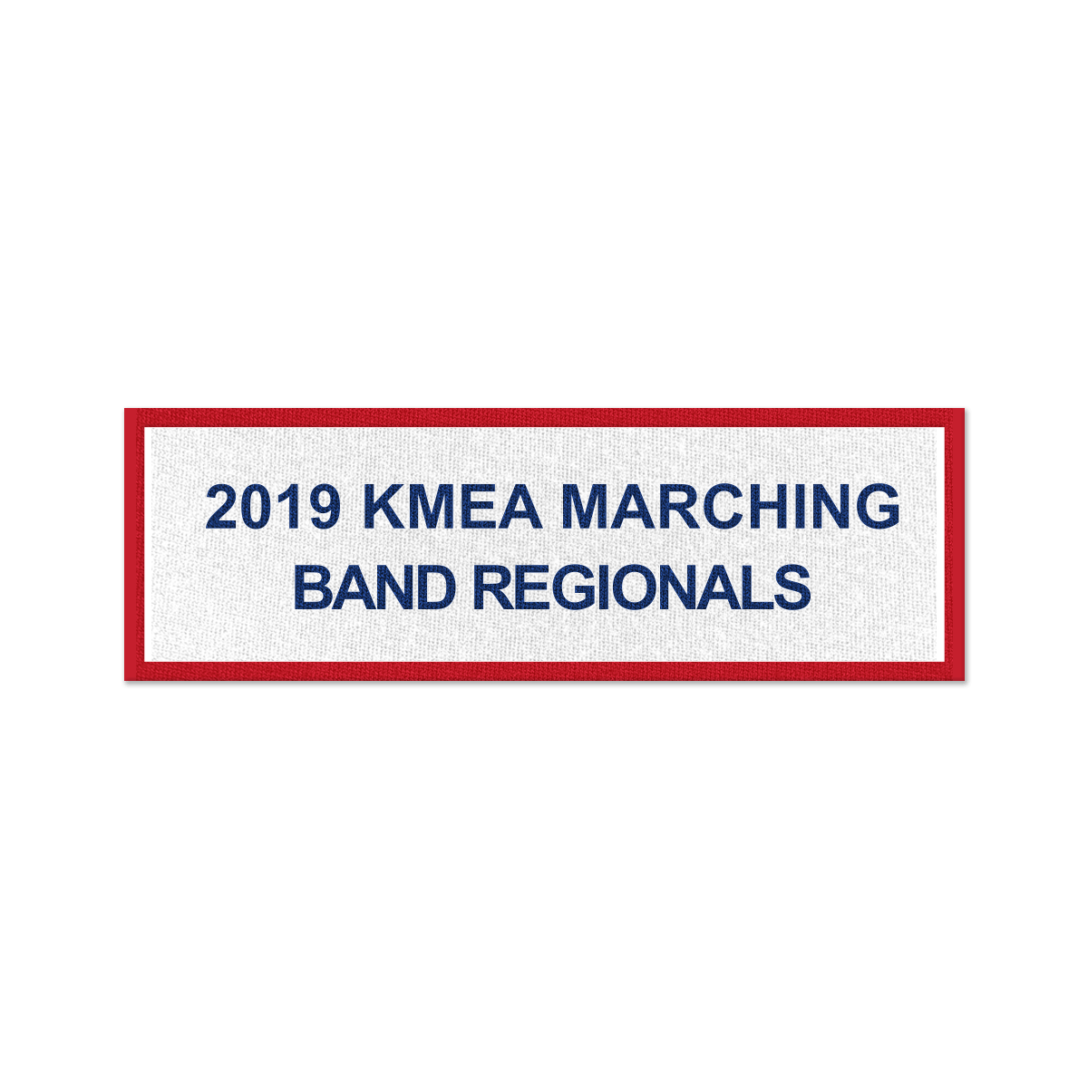 2019 KyMEA Marching Band Regional Quarterfinals Patch