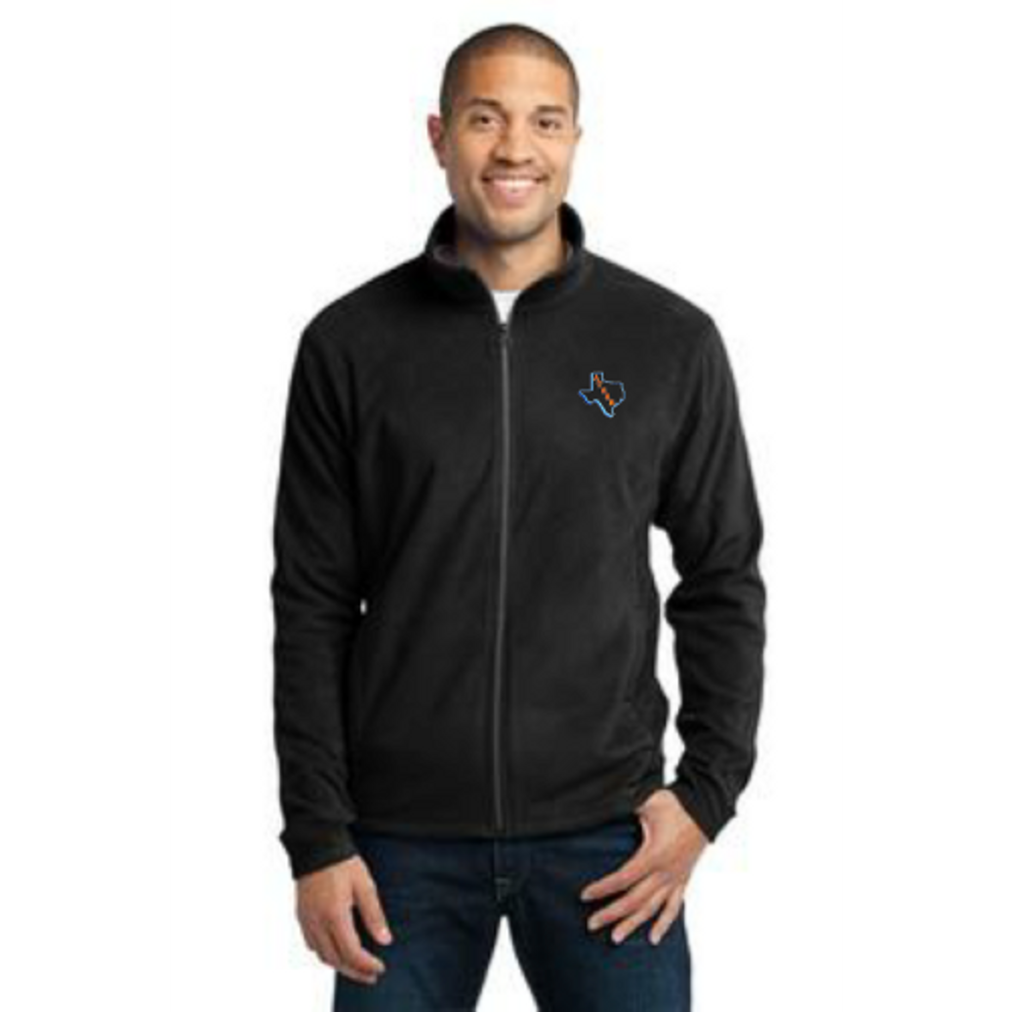ATSSB Men's Black Microfleece Jacket