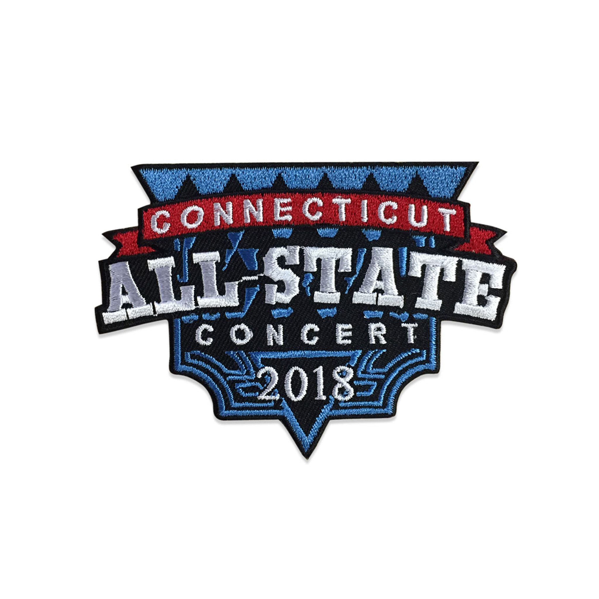 2018 Connecticut All-State Concert Patch