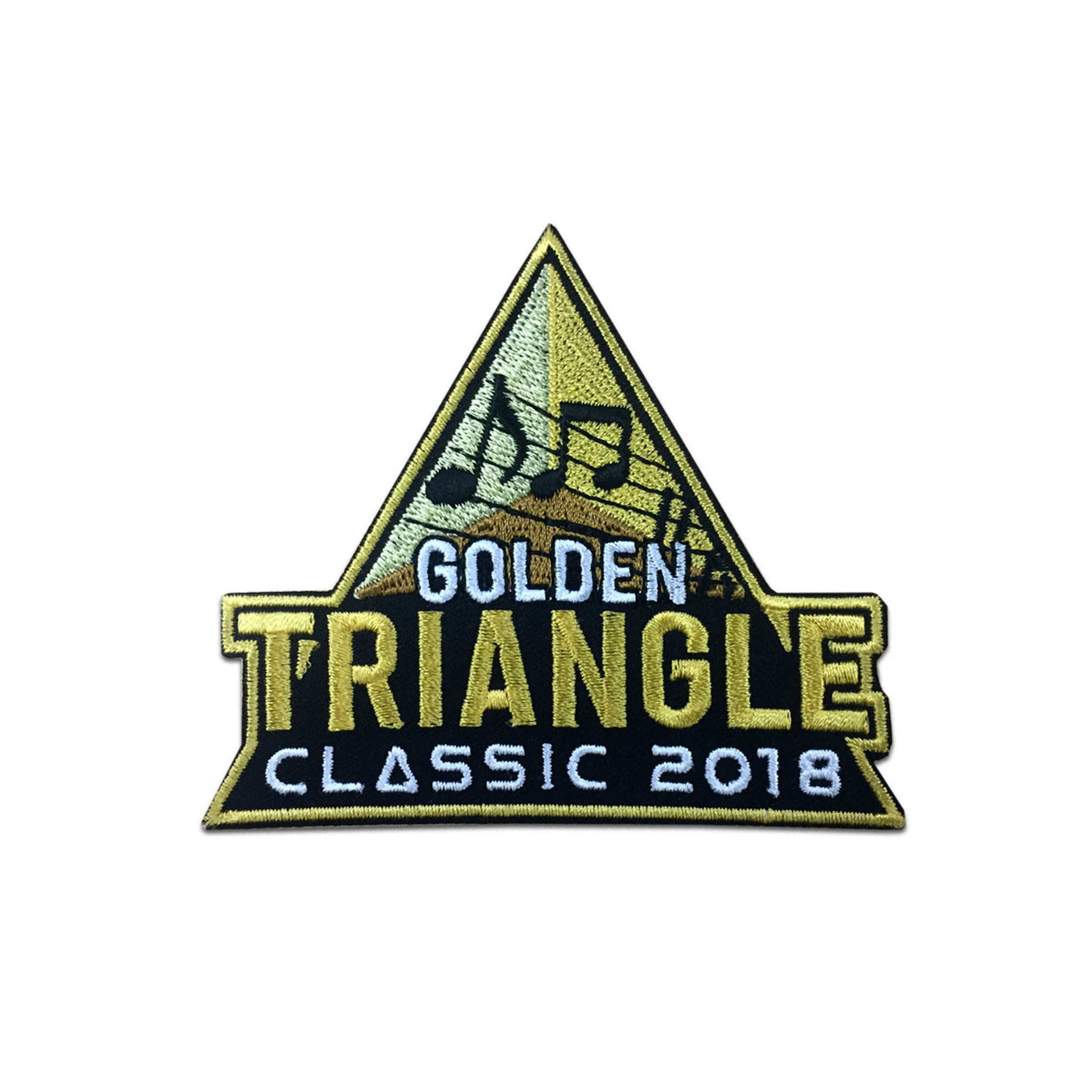 2018 Golden Triangle Classic Event Patch