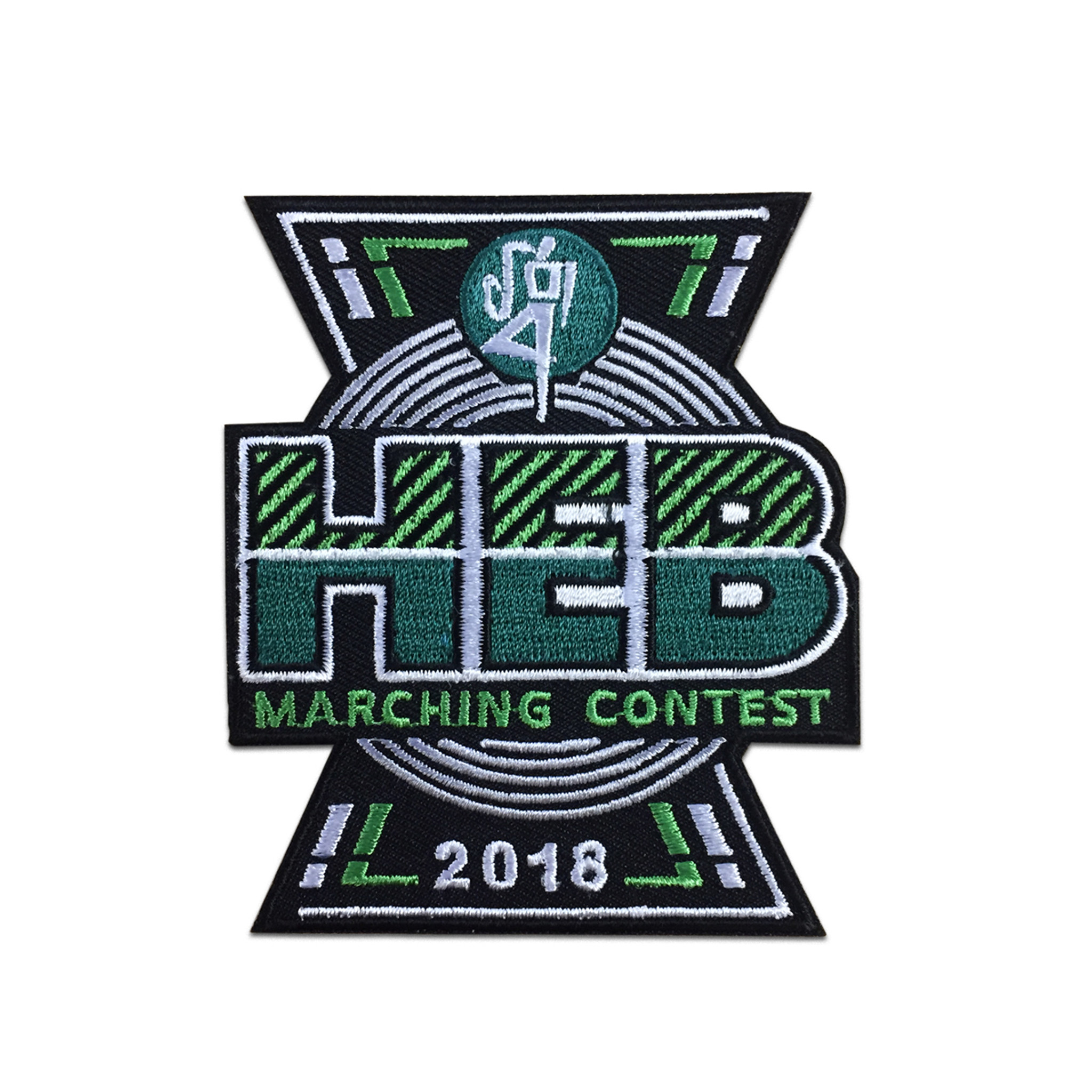 2018 HEB Marching Band Contest Event Patch