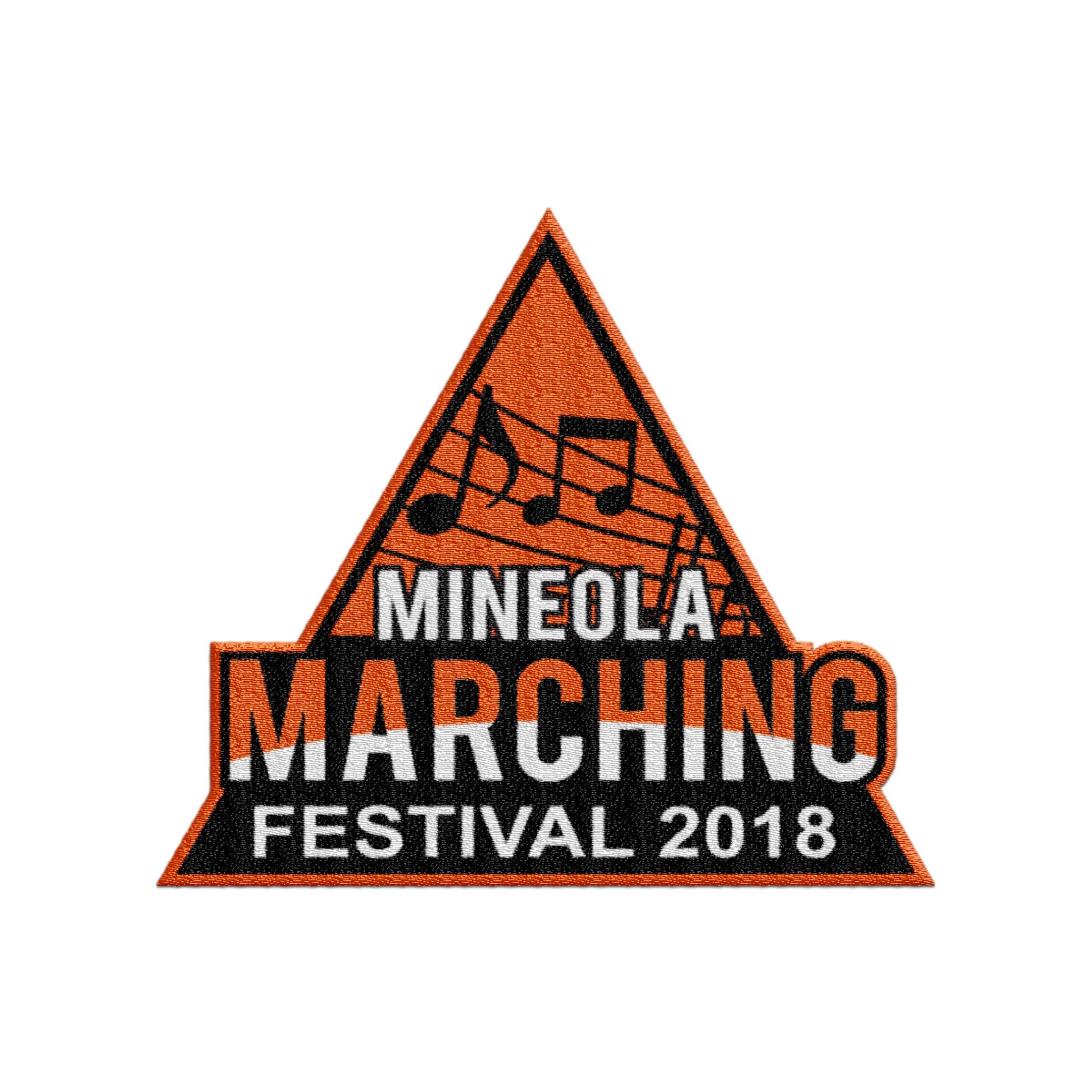 2018 Mineola Marching Festival Event Patch