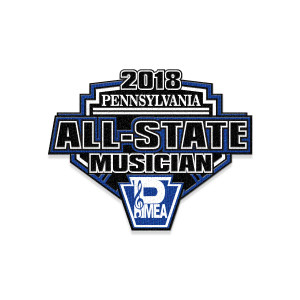 2018 PMEA All-State Event Patch