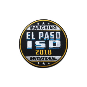 2018 El Paso ISD Marching Invitational Patch