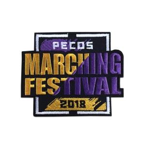 2018 Pecos Marching Festival Patch