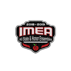2019 IMEA All-State & Honor Ensembles Patch