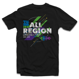 2019-2020 TMEA Region Orchestra Black T-Shirt