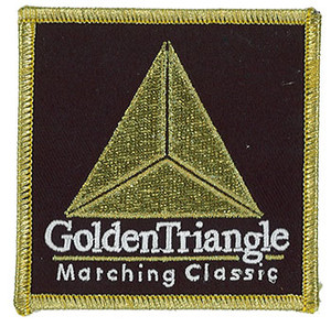 Golden Triangle Marching Classic Patch