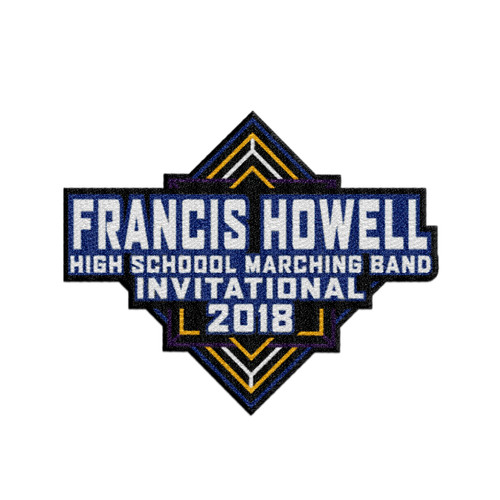 2018 Francis Howell HS Marching Band Invitational Patch