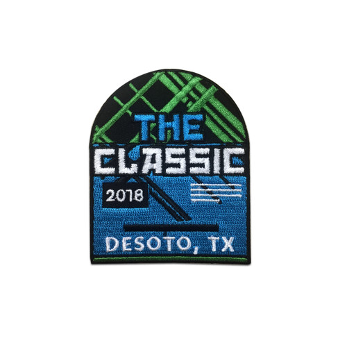 """2018 DeSoto """"The Classic"""" Event Patch"""