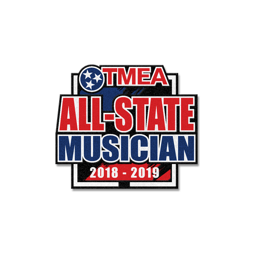 2019 TnMEA All-State Patch